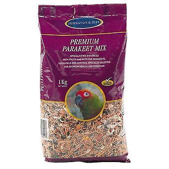 Jensen & Jørgensen Premium Parakit Mix 1kg (pakke med 12)