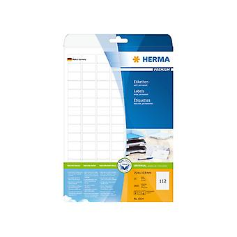 Labels white 25, 4 x 16, 9 Herma Premium A4 2800 pcs.