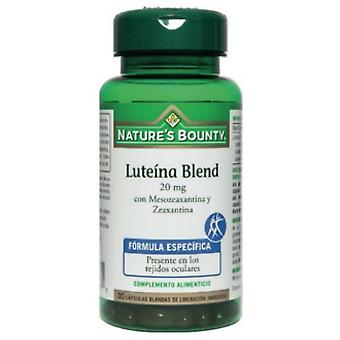 Nature's Bounty Blend 20 mg Lutein 30 Softgels (Dieet)