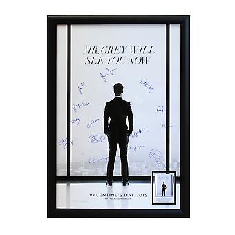Fifty Shades of Grey - Signed Movie Poster