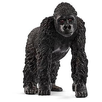 Schleich Gorilla, female (Toys , Dolls And Accesories , Miniature Toys , Animals)