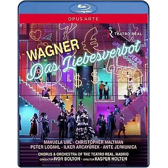 Wagner: Das Liebesverbot [Blu-ray] USA import