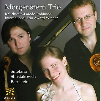 Smetana/Sjostakovitj/Bernstein - Morgenstern Trio spiller Smetana, Sjostakovitj, Bernstein [CD] USA import
