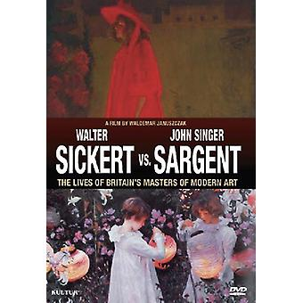 Sickert vs. Sargent-Britain's Masters of Modern Ar [DVD] USA import