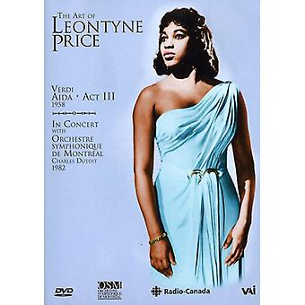 Leontyne Price - Art of Verdi: Aida-Act II [DVD] USA import