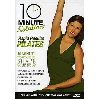 Rapid Results Pilates [DVD] USA import