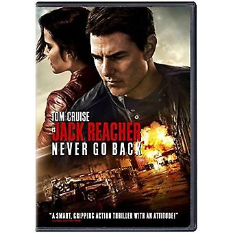 Jack Reacher: Never Go Back [DVD] USA import
