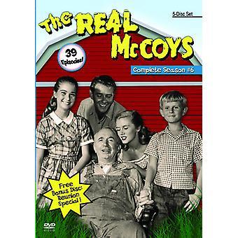 Rigtige McCoys: Sæson 6 [DVD] USA import