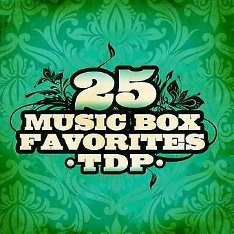 TDP - 25 import USA la caja de música favoritos [CD]