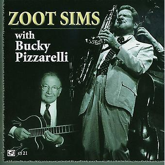 Zoot Sims - Zoot Sims med Bucky Pizzarelli [CD] USA import
