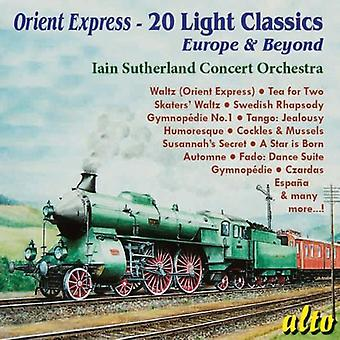 Iain Sutherland - Orient Express-20 lys Classics [CD] USA import