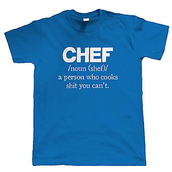 Vectorbomb, Chef, Herre sjov T Shirt (S til 5XL)
