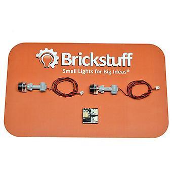 Brickstuff Evil Robot Pulsing Eye Stalk QuicKit--