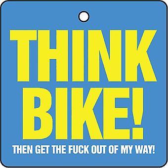 Think Bike Car Air Freshener