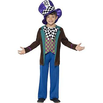 Smiffys Deluxe Hatter Costume Blue With Jacket Trousers & Hat (Costumes)