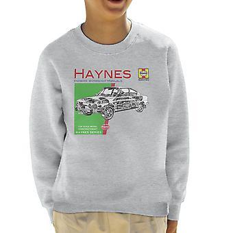 Haynes ejere Workshop Manual 0303 Skoda 110R børne Sweatshirt