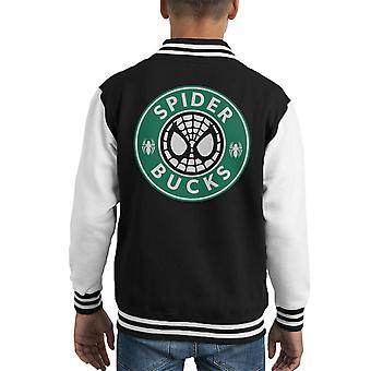 Spider Bucks chaqueta Varsity de Starbucks Spiderman fiesta infantil