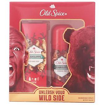 Old Spice Bearglove Aftershave Pack 2 Piezas (Hygiene and health , Shaving , Aftershave)