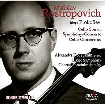 Mstislav Rostropovich - Mstislav Rostropovitj spiller Prokofiev [CD] USA import