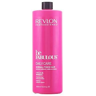 Revlon Be Fabulous Frequent Use Shampoo 1000 ml (Hair care , Shampoos)