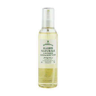 D R Harris Naturals lavanda mano & Body Wash 200ml