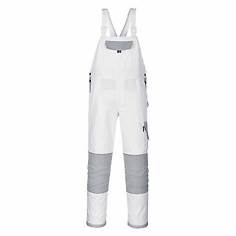 Portwest - Craft Two Tone Workwear Bib & Brace Dungarees Coverall