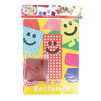 Children's Arts & Crafts Mister Maker Make Your Own Mosaic Picture - Rectangle