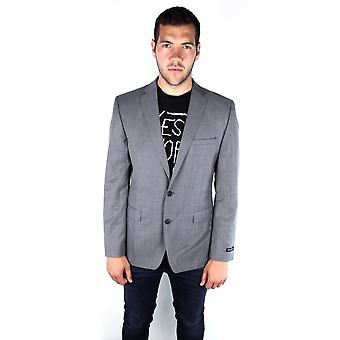 French Connection 55BAP Savings Sharkskin Grey Jacket