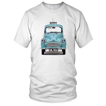 Morris Minor Police Classic Car Mens T Shirt