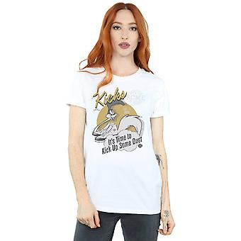 Looney Tunes vrouwen Road Runner Kicks Boyfriend Fit T-Shirt