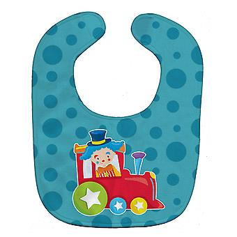 Carolines Treasures  BB8705BIB Circus Clown Train Baby Bib