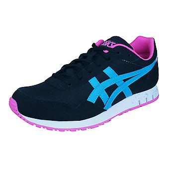 Asics Curreo Mens Running Trainers / Shoes - Black and Blue