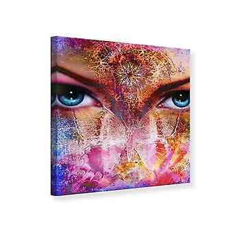 Canvas Print Psychedelic Face