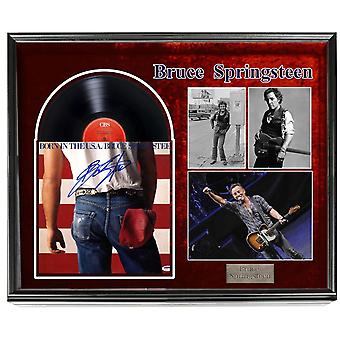 Bruce Springsteen - Born in the U.S.A-  Signed Album