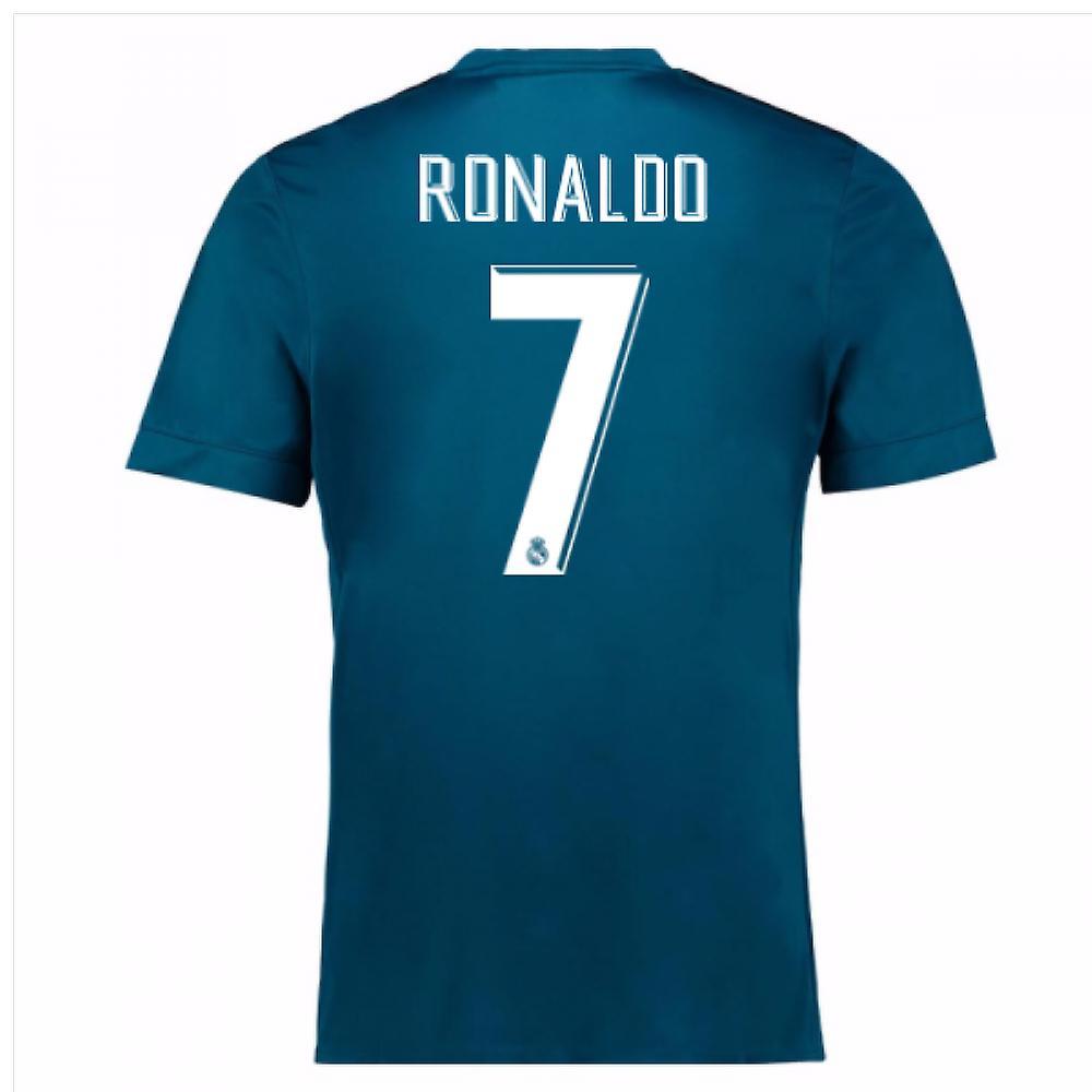 2017-18 Shirt troisième real Madrid (Ronaldo 7) - Kids