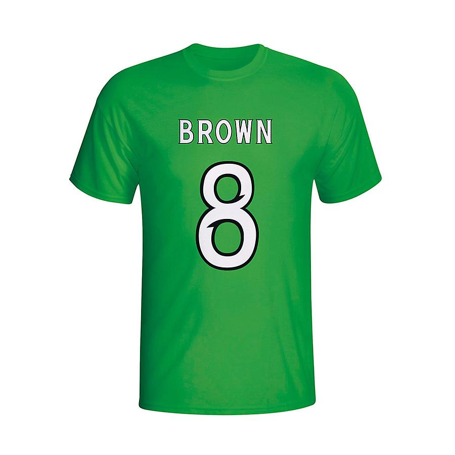 स्कॉट ब्राउन सेल्टिक हीरो टी शर्ट (हरा)