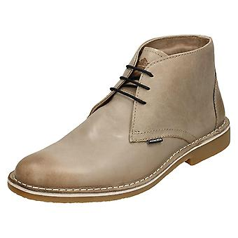 Mens Lambretta Ankle Boots Canary LG 14131 - Toledo Tan Leather - UK Size 9 - EU Size 43 - US Size 10