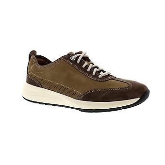Clarks Un Coast Lace - Taupe Nubuck (Brown) Mens Trainers