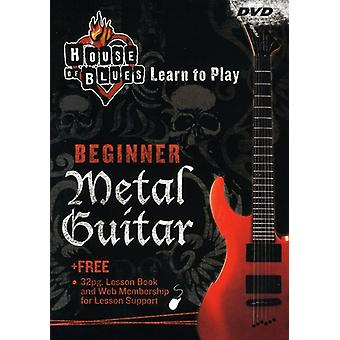 House of Blues - Lær at spille Metal Guitar nybegynder [DVD] USA import