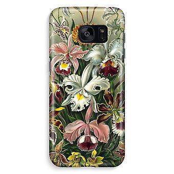 Samsung S7 Edge Full Print Case - Haeckel Orchidae