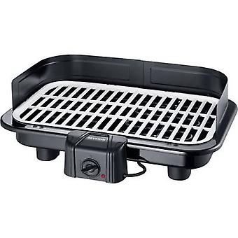Table Electric grill Severin PG 2794 with wind protection Black