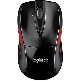 Wireless mouse Optical Logitech M525 Black/red