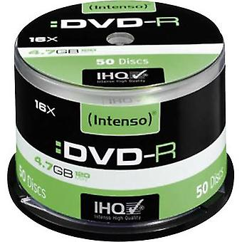 Blank DVD-R 4.7 GB Intenso 4101155 50 pc(s) Spindl