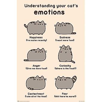 Pusheen (Cats Emotions) poster