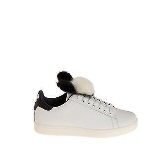 MOA women's MD1080 White leather of sneakers