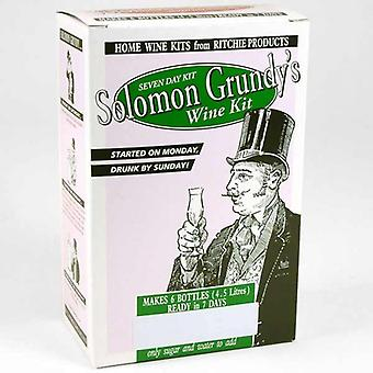 Solomon Grundy Fruit - Black Cherry 6 flaske vin kit