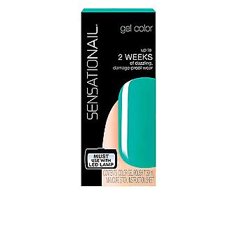 Fing'rs Sensationail Gel Color Island Oasis 7.39ml Womens New Make Up