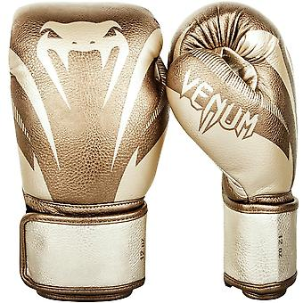 Venum Impact Boxing Gloves - Gold
