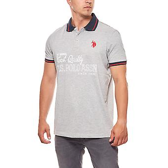 U.S. POLO ASSN. Polo T-shirt limited edition mens grey