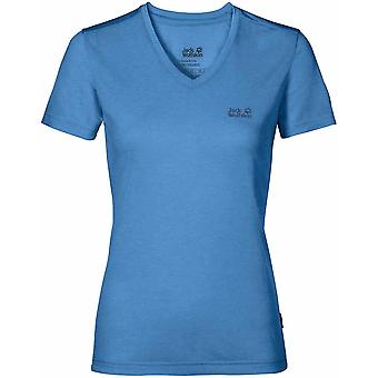 Jack Wolfskin Womens Crosstrail Short Sleeved T-Shirts Lightweight